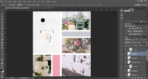 Moodboard avec Photoshop - par Elan Creative Co.