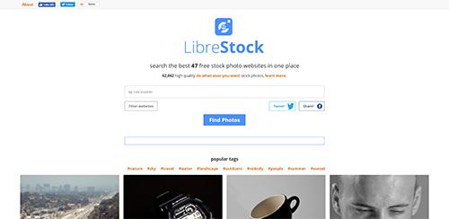 LibreStock : images libres et gratuites