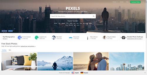 Pexels : images libres et gratuites