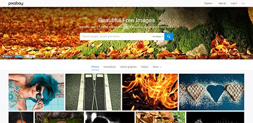 Pixabay : images libres et gratuites