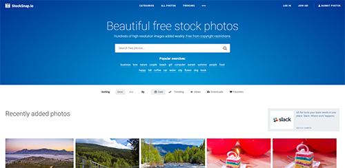 StockSnap : images libres et gratuites