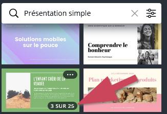 Modèle de présentation Canva