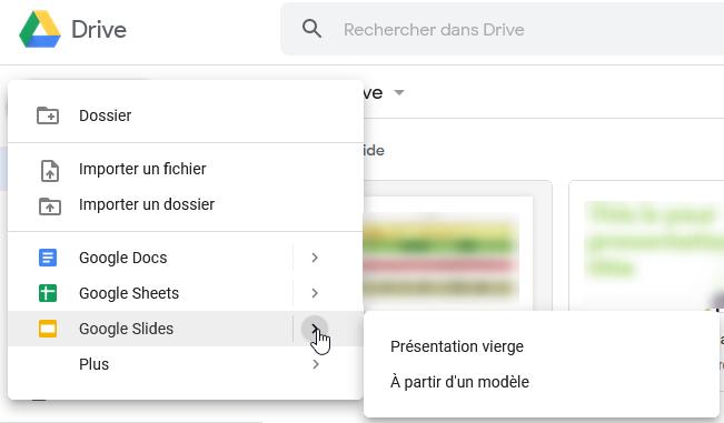Comment accéder à Google Slides