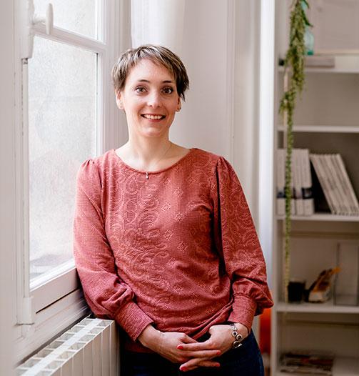 Virginie Rezé : content manager
